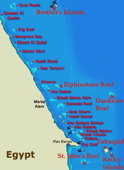 Best of the Red Sea<br>9 Days / 10 Nights<br>From Marsa Alam
