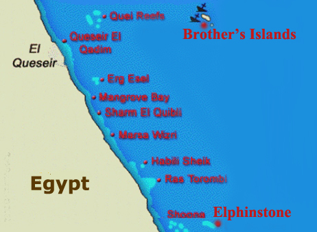 Brother's - Elphinstone<br>6 Days / 7 Nights<br>From Hurghada