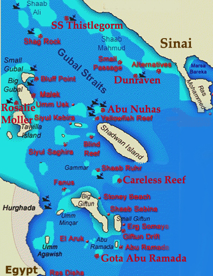 Hurghada North Wrecks<br>6 Days / 7 Nights<br>From Hurghada