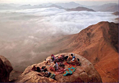 <i>Trip 2: </i>&nbsp;<u>Moses Mountain (Mt. Sinai)</u>